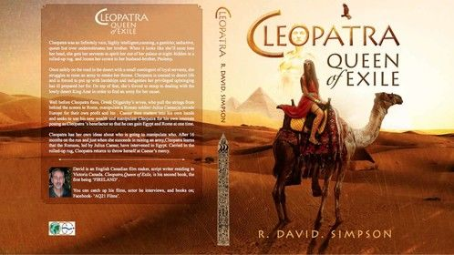 'Cleopatra,Queen of Exile' now a book on Amazon in Spanish and English/ Seeking funds for the film 2020.