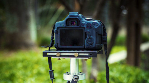 GLIDECAM 2000 PRO + Canon EOS Rebel T6i setup.  Image stabilization taken to another level.