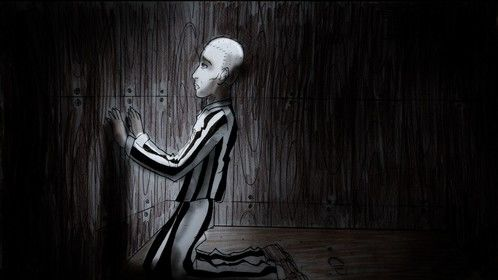 """Story Board """"175"""" Edward. (Bunker cell concentration camp)"""