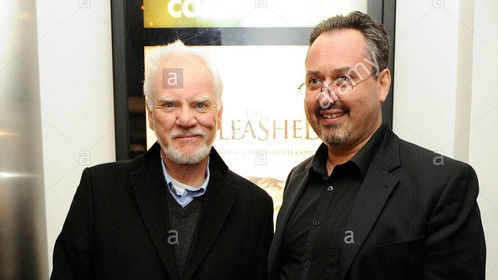 me and Malcolm McDowell