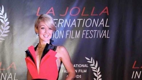 Ella Wagner, La Jolla International Fashion Film Festival.