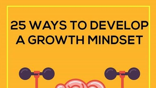 """Do You Want To Succeed In Film & TV?  Adopt These 25 Ways to Develop a Growth Mindset...  1. Acknowledge and embrace imperfections.  2. View challenges as opportunities.  3. Try different learning tactics.  4. Follow the research on brain plasticity.  5. Replace the word """"failing"""" with the word """"learning.""""  6. Stop seeking approval.  7. Value the process over the end result.  8. Cultivate a sense of purpose.  9. Celebrate growth with others.  10. Emphasise growth over speed.  11. Reward actions, not traits.  12. Redefine """"genius.""""  13. Portray criticism as positive.  14. Dissassociate improvement from failure.  15. Provide regular opportunities for reflection.  16. Place effort before talent.  17. Highlight the relationship between learning and """"brain training.""""  18. Cultivate grit.  19. Abandon the image.  20. Use the word """"yet.""""  21. Learn from other people's mistakes.  22. Make a new goal for every goal accomplished.  23. Take risks in the company of others.  24. Think realistically about time and effort.  25. Take ownership over your attitude.  #EntrepreneurMindset #EM"""