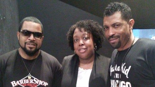With Ice Cube and Deon Cole