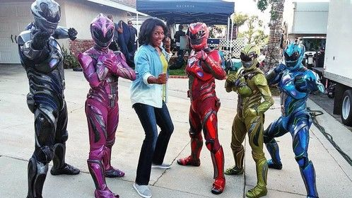 Power Rangers Mom for Walmart