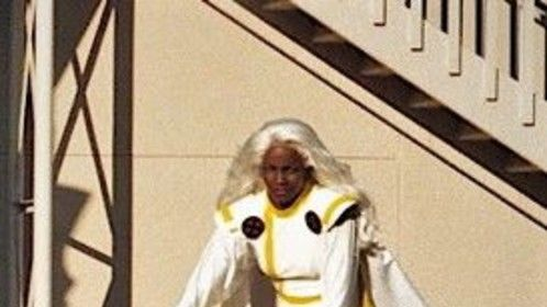 I portrayed the Original Storm from the X-men Comic Book series