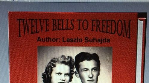 """New Book Cover for """"Twelve Bells To Freedom"""""""