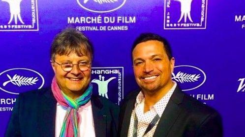 Great partnership with Jérome Paillard, executive director of Cannes Marché du Film
