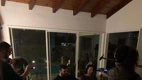 "On set of ""The Log"" by Raphael Dirani"