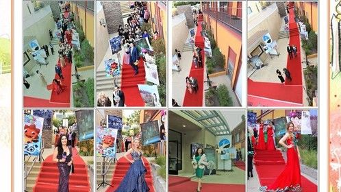 the red carpet of the 2019 Universe Multicultural film festival