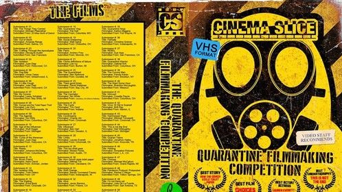"""1 Pandemic. 7 Days. 51 film submissions. Hosted by CinemaSlice and Mid Ohio Filmmakers Association. Stay Safe. Make Movies. Slice the Planet.  Submission #35 """"Quarantine Ninja"""" by. yours truly, Kaitlyn Magana  Full Competition Link: https://www.youtube.com/watch?v=pINV194Z2U0&feature=youtu.be&fbclid=IwAR0uHbmaYGdWoz0HzhINCbKEno2FW6RY4NRMsfmTmN7j8gZngAQ0VG8-kiM  Quarantine Ninja Link: https://www.youtube.com/watch?v=4-hkJL9dV4I&t=1s"""