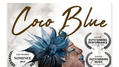 Coco Blue Poster