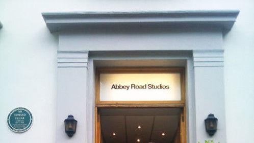 Abbey Road studio session...