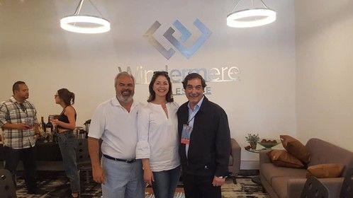 Chuck and Mary Vargas, Award winning wine maker Gustavo Brambilla