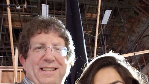 Dan Jablons and America Ferrera on Superstore