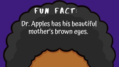 A FUN FACT about Dr. Apples from Kid Dr. Apples.