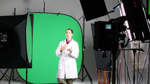Green and blue screen shooting are my specialty!