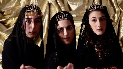 """""""We are three queens . . """" Two Noble Kinsmen, Salesian Theatre, Feb-March 2020"""
