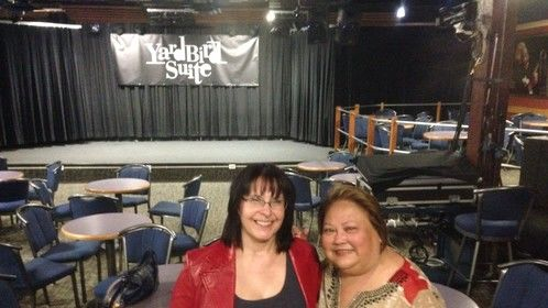 With Emmy-winning documentary filmmaker and Stage 32 member Stephanie J. Castillo at a screening of her film: Thomas Chapin: Night Bird Song.