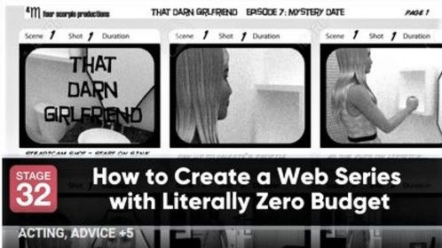 """EXCITED...Our article (w/ my husband William Joseph Hill ) about our web series """"That Darn Girlfriend"""" we wrote for Stage 32 was published today! Here's a link- https://www.stage32.com/blog/How-to-Create-a-Web-Series-with-Literally-Z... Thanks again Stage 32 and Taylor C. Baker! Take care."""