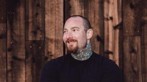 Actor / Artist Brandon Garic Notch -photographed by www.J-Morton.com