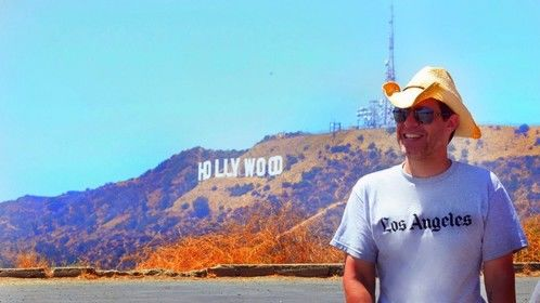 Writer-director Francisco Lorite on location