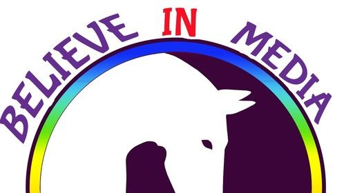 Logo for my production company - Believe IN MeDia