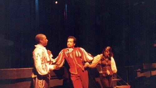 Juan Escobedo as Don Juan with hair.