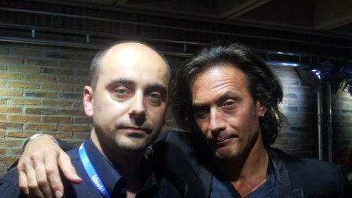 with writer-director Tom DiCillo at Munich FF 2011