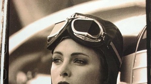 hair & makeup for a shoot on Homestead Airbase, FL a couple months after Hurricane Andrew