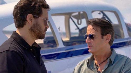 As PUND's pilot 'El Tigre Viamonte' in Wasp Network.