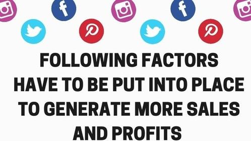Generate More Sales and Profits, the following factors have to be put into place Visit: https://www.tlminsidesales.com/services/inside-sales-support for more details.