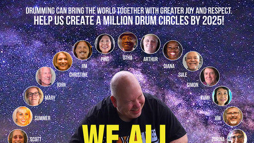 Poster for WE ALL JUST NEED TO DRUM!