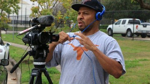 5th Ward documentary shoot.