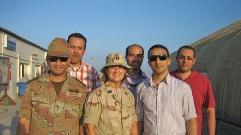 Deployment Djibouti Africa - Egyptian Embassy Counterpart