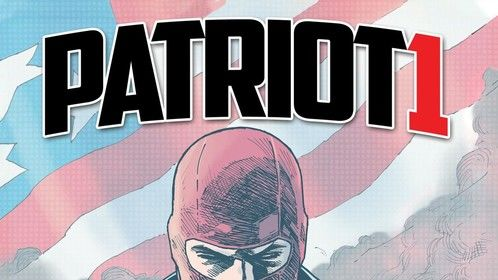 Cover for Patriot-1 graphic novel