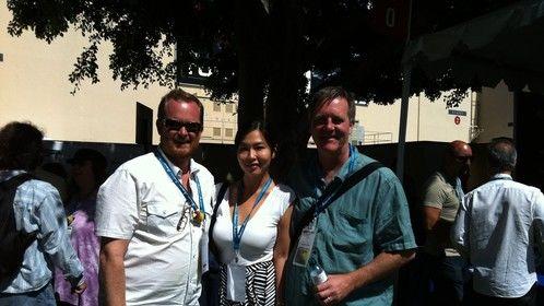 Yang Zhang at Disney Studios