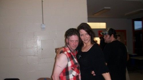 With Shawn Cain  director of Indy Wrestler