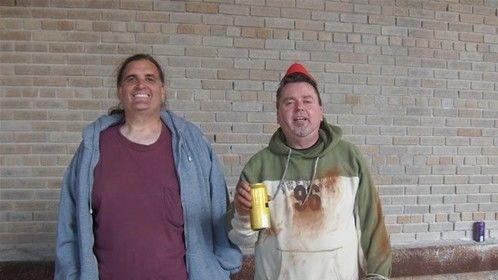 Me and David R. Williams - Buffalo Central Terminal