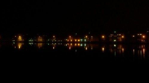City lights in Lappeenranta