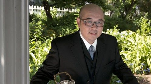 Harrison Cheung - the Real Alfred! (Press photo for book tour 2012)
