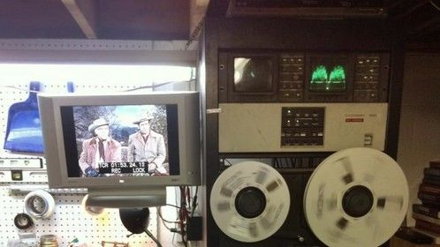 my analog to digital rack, we restore and transfer old formats