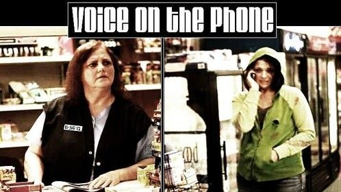 Voice on the phone