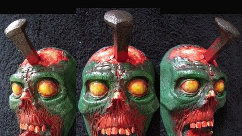 Head Hook ™ Zombie green