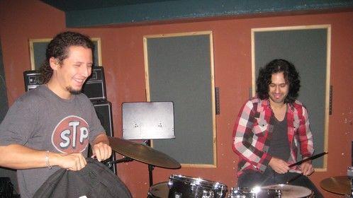 Antonio y Enrique, setting up. 12.14.12