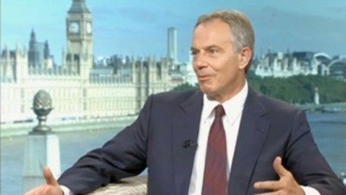 Tony Blair interview, The Andrew Marr Show, BBC