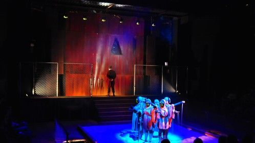 Oedipus - Scenic & Lighting Design