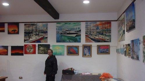 Rollz art exhibition u.k