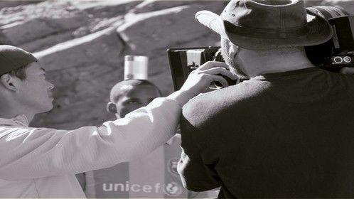 Filming Drogba