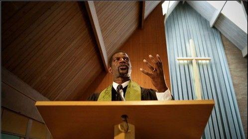 Me as Rev. Curtis Hartman