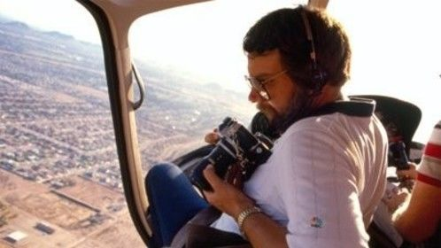 Ron even had his hand at PS/A's aerial photography in years past. Doors? We don't need no stickin' doors.
